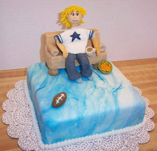 Dallas Fan Cake